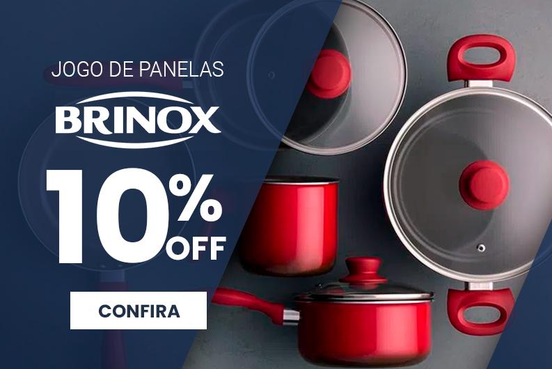 Brinox - Jogo de Panelas