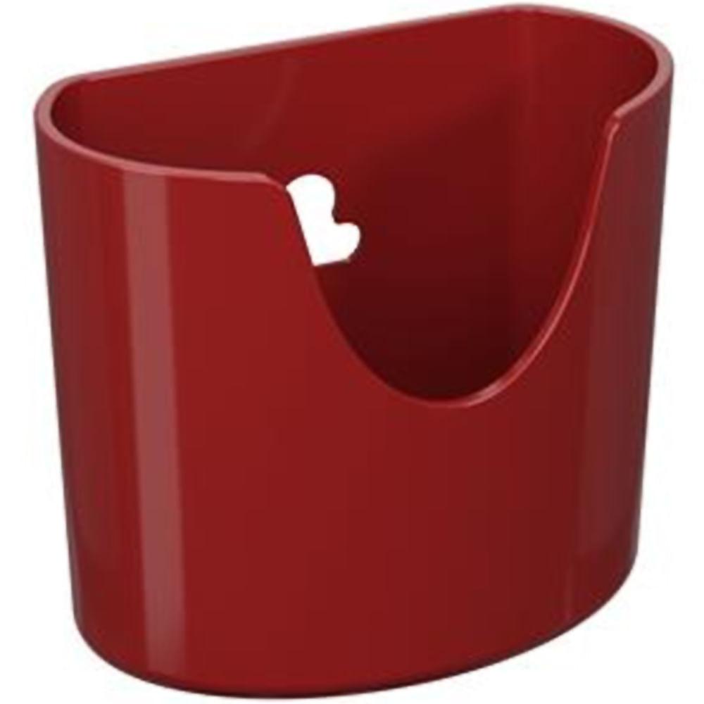 Mini Organizador Glass Vermelho Bold Coza