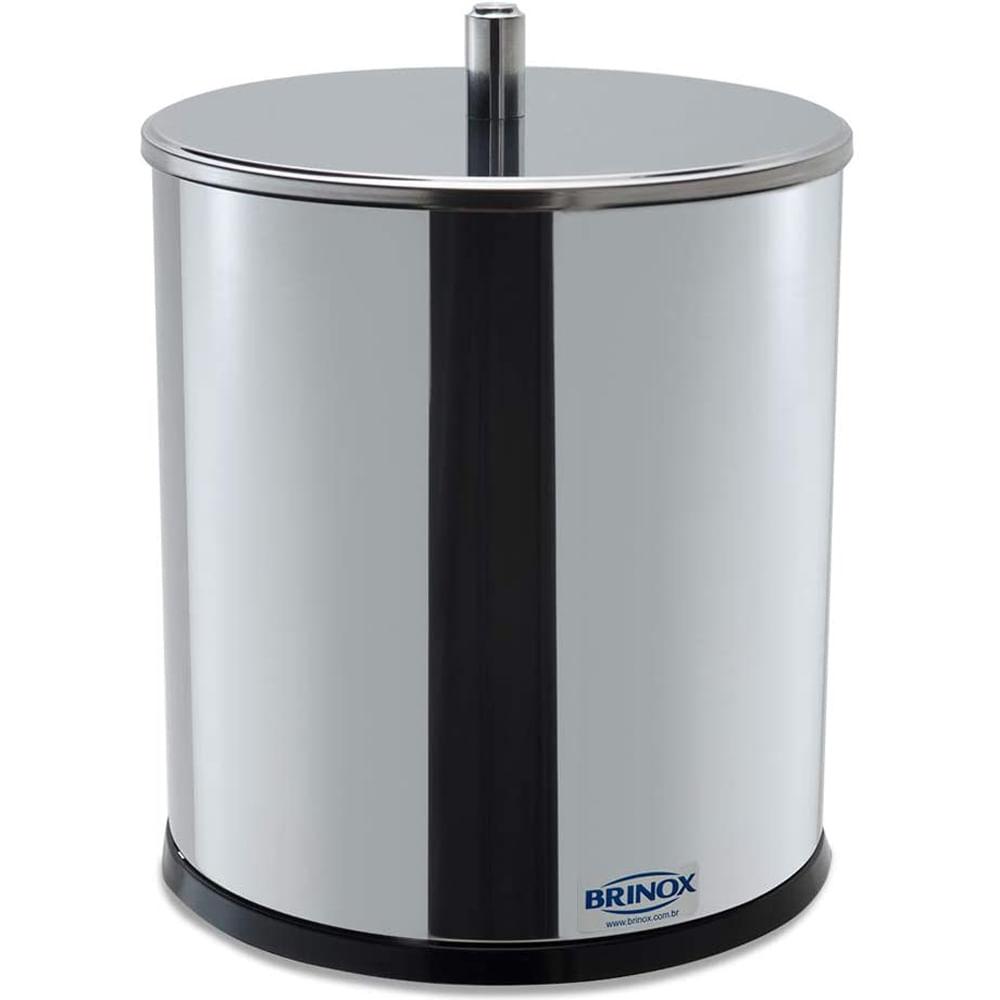 Lixeira Inox 5.4 Litros Decor Line 18.5X23 Cm Brinox