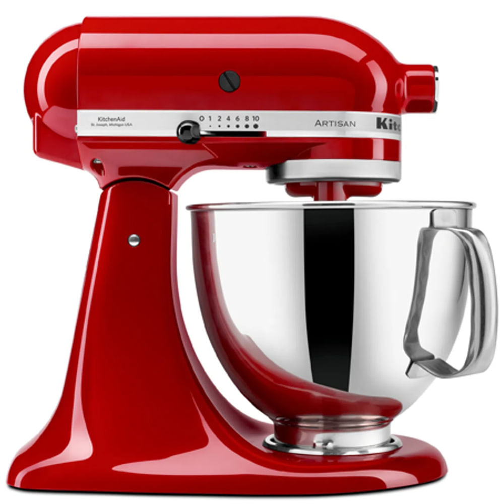 Batedeira Stand Mixer Artisan 110V Empire Red KitchenAid