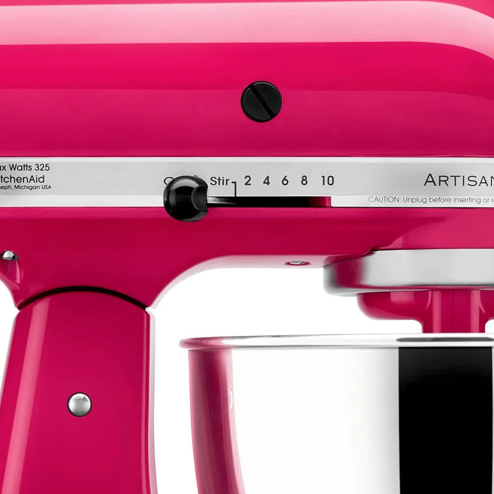 Batedeira Stand Mixer Artisan 110V Cranberry KEA33C2ANA Kitchenaid