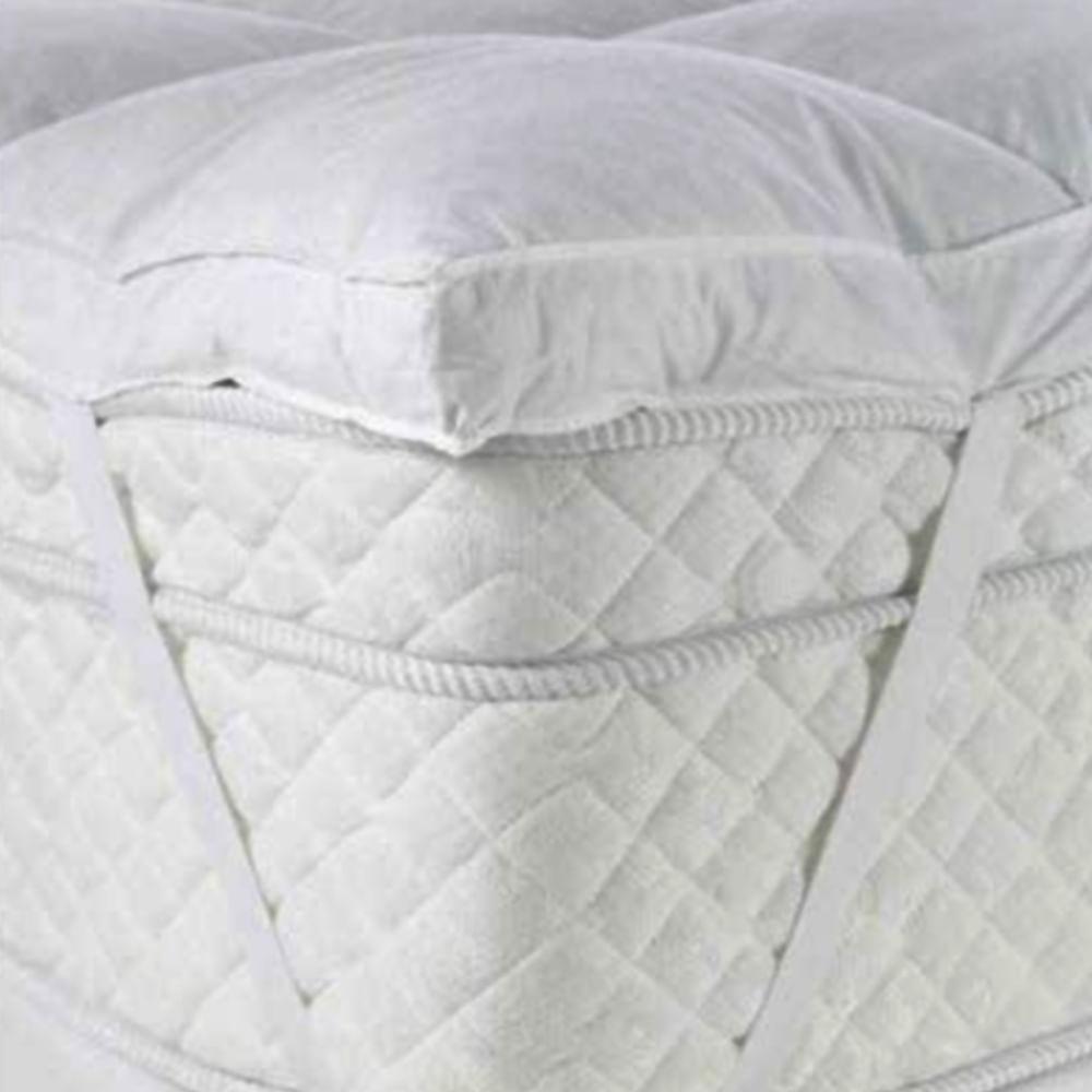 Pillow Top King 85% Penas 15% Plumas Daune