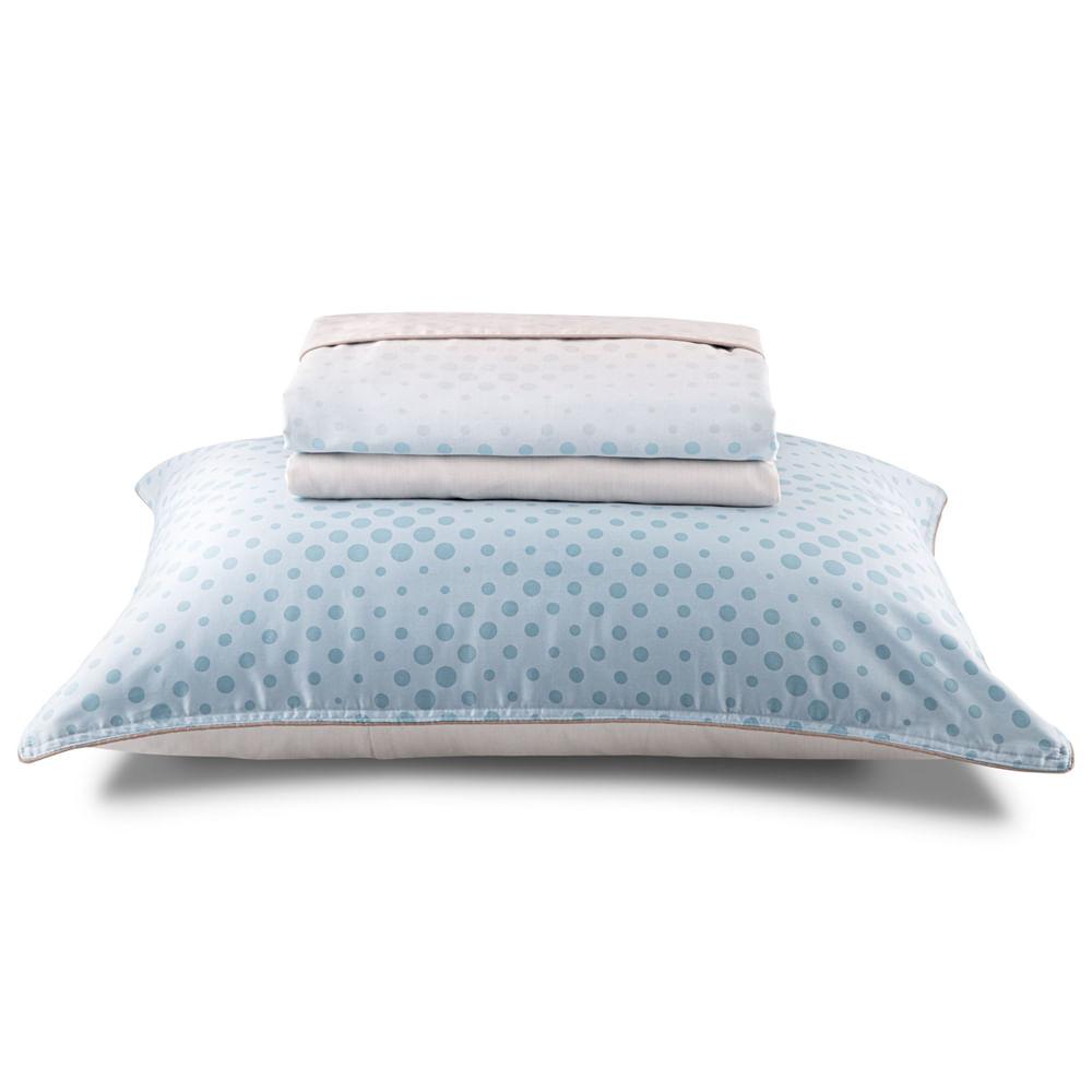 Jogo de Cama Queen Bokeh 300 Fios 501001 By The Bed