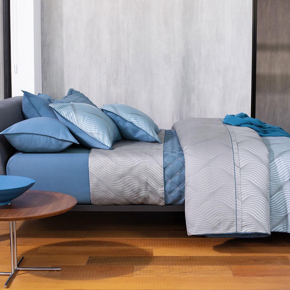 Jogo de Cama Casal Hudson 300 Fios 501801 By The Bed