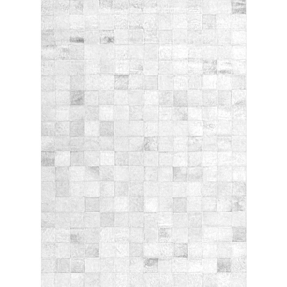 Tapete De Couro Patchwork 150x200 Branco 4010/40153 Tapecouro