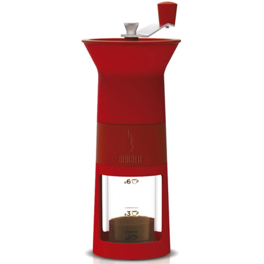 Moedor de Cafe Manual Vermelho 10490402 Bialetti