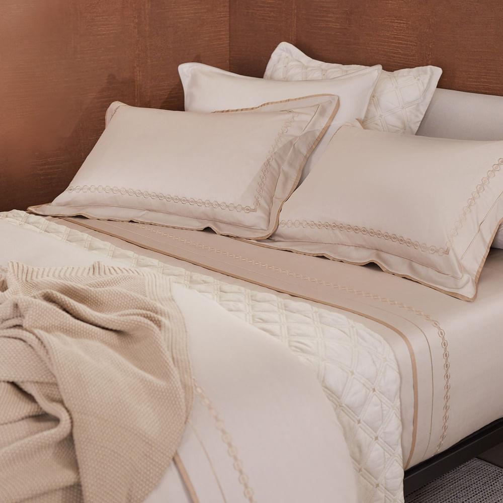 Jogo de Cama Metro 300 Fios Casal 503001 By The Bed