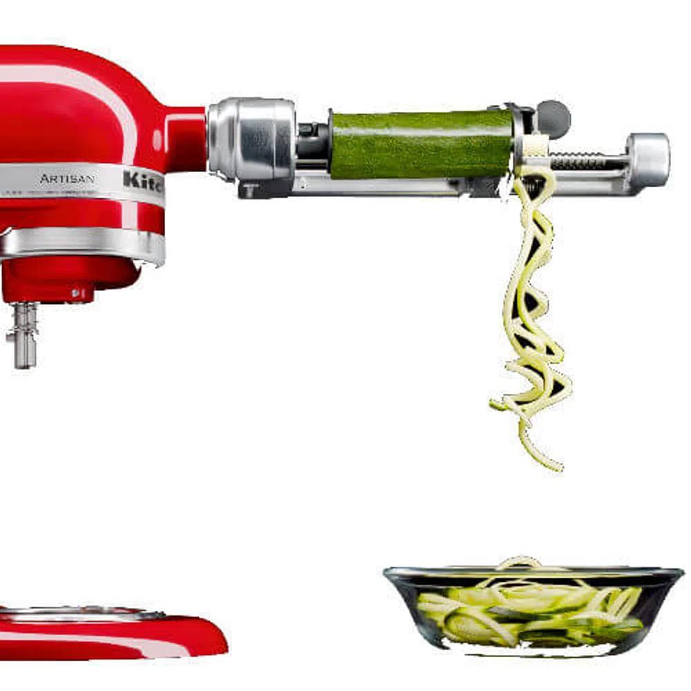 Espiralizador de Frutas/Legumes para Stand Mixer KitchenAid