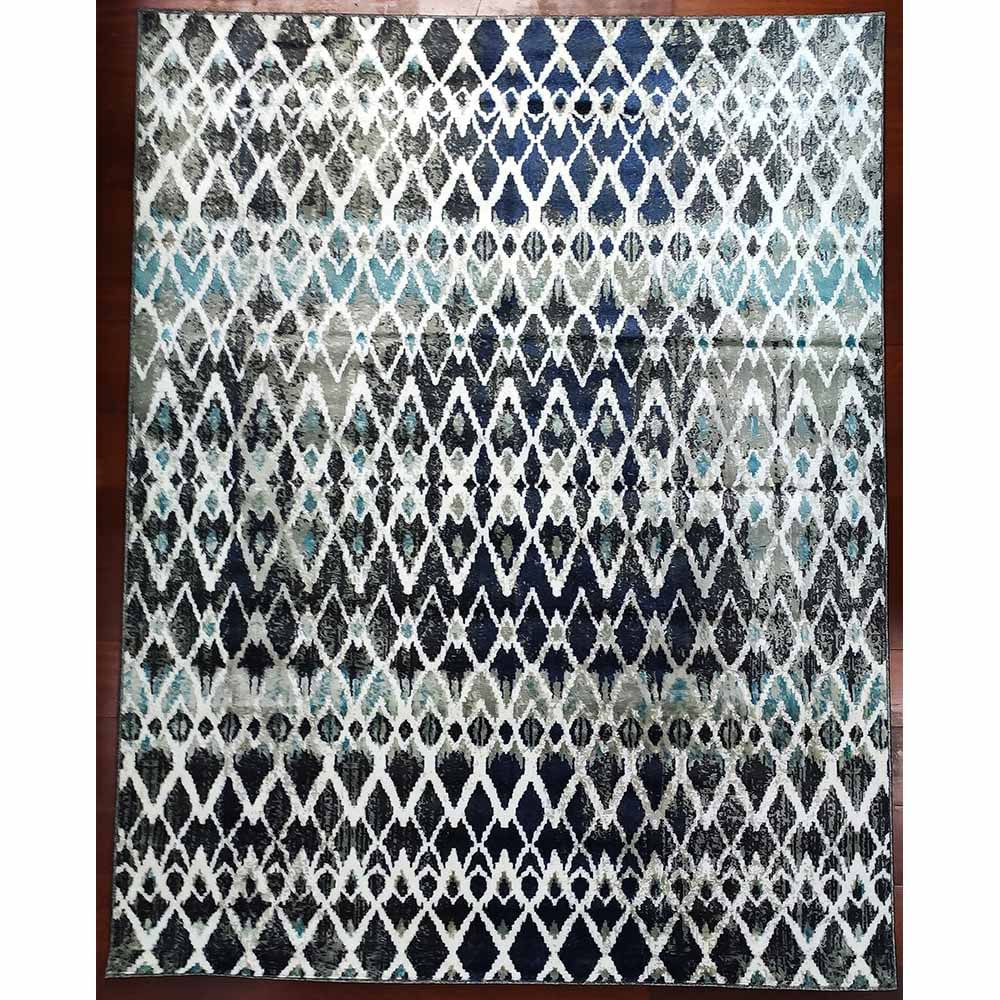 Tapete Egípcio Calypso 0.57x0.90 Azul 1537E Abdalla