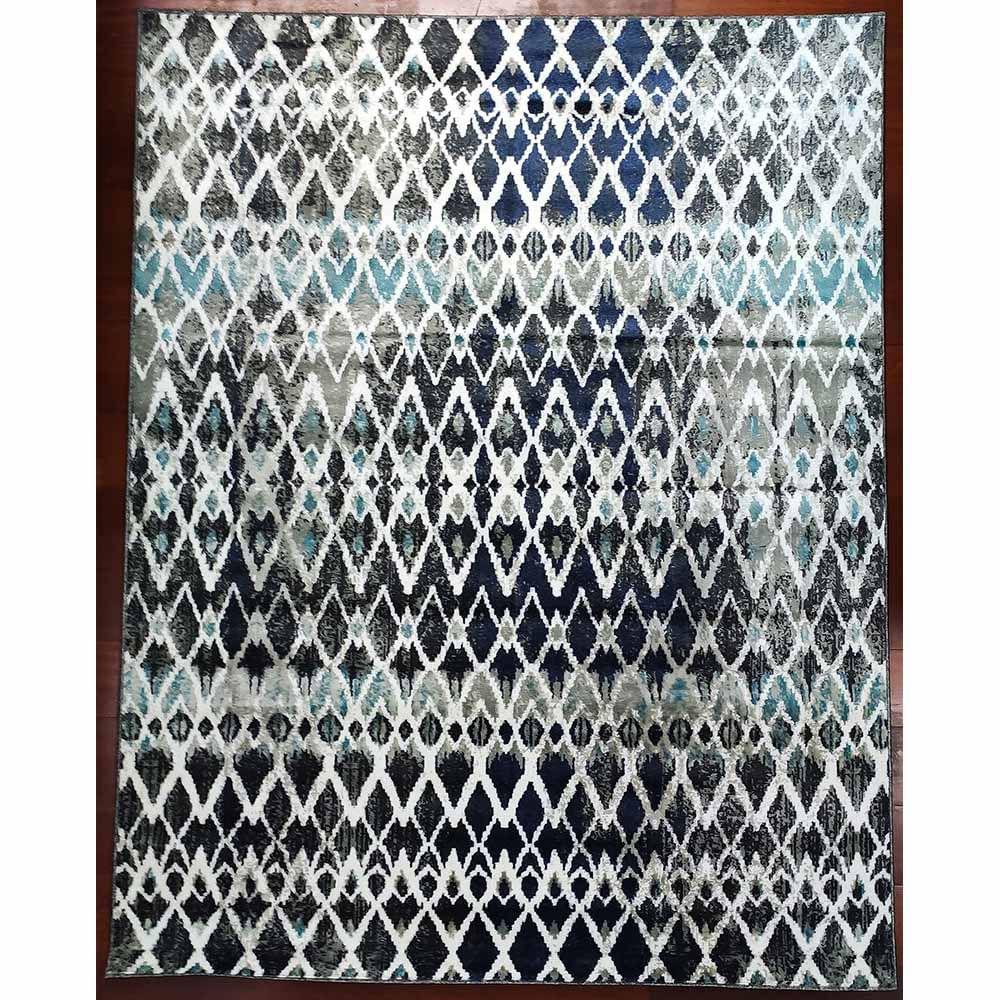 Tapete Egípcio Calypso 0.60x1.20 Azul 1537E Abdalla