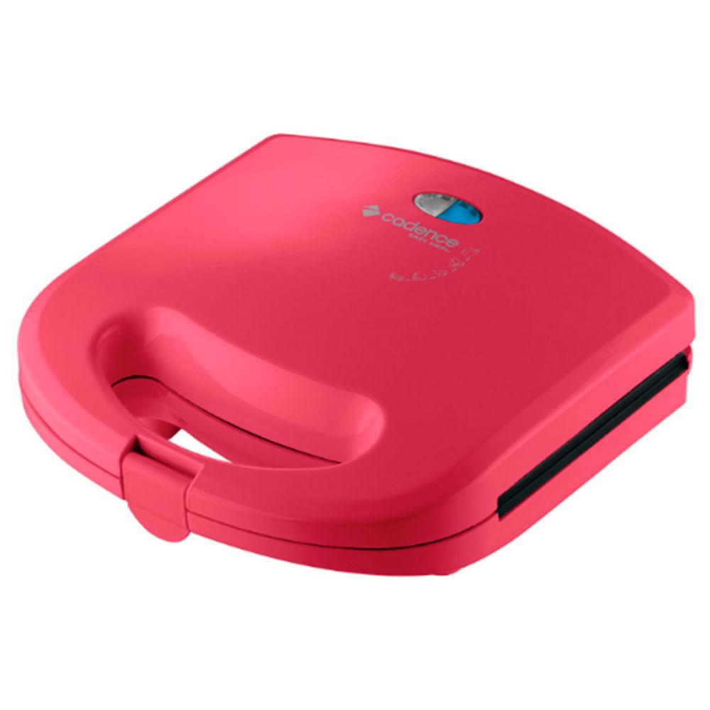 Sanduicheira Minigrill Colors Rosa Doce 127V Cadence
