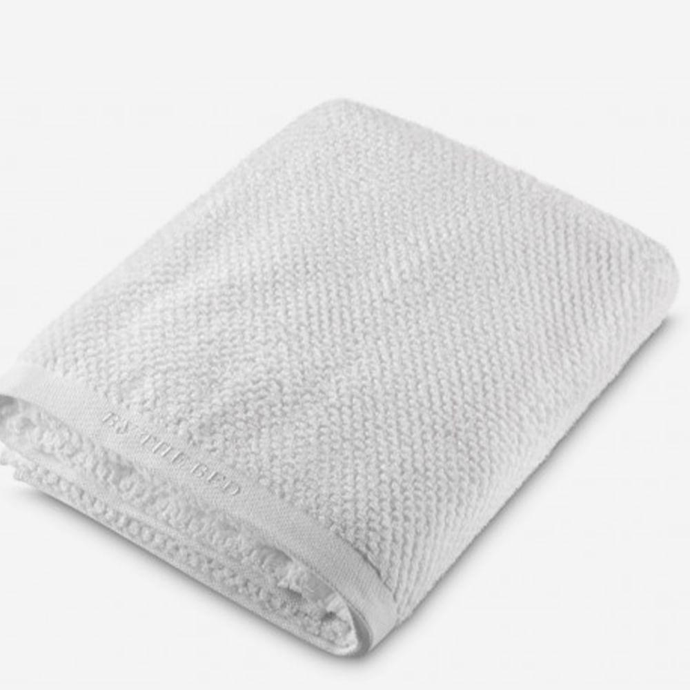 Toalha Para Pés 0.50X0.80M Branco  By The Bed