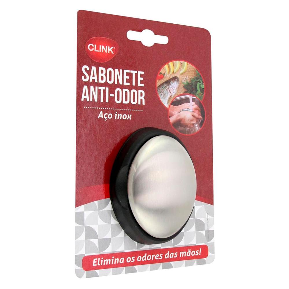Sabonete Anti-Odor Aço Inox Clink