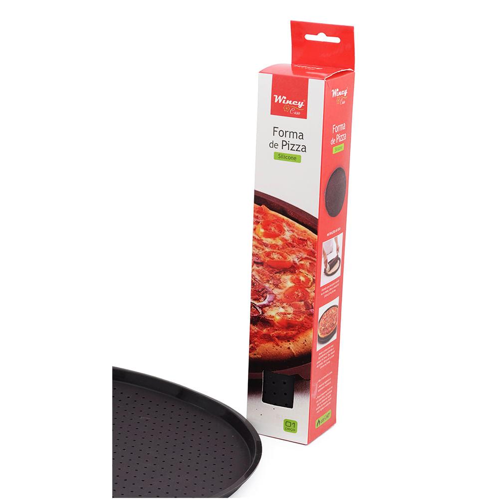 Forma De Pizza Silicone 35Cm Wincy