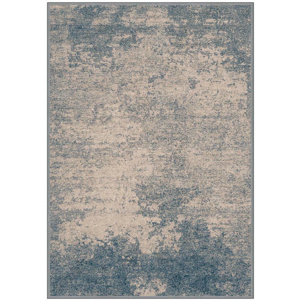 Tapete Belga Harmony Trendy 1X1.4 9810 Azul/Cinza  Abdalla