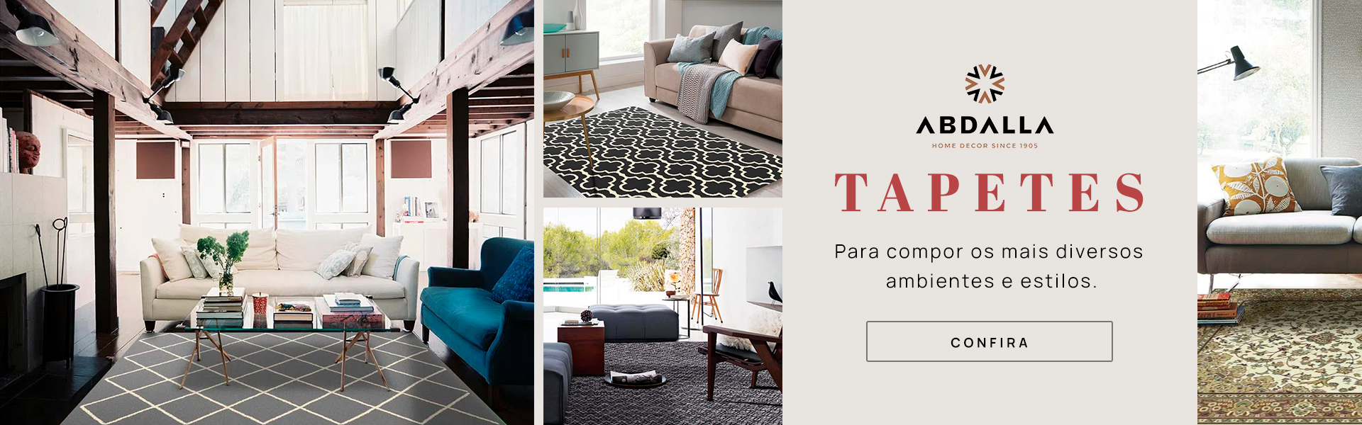 Banner - Tapetes